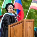Susan Barduhn Commencement speech 2016