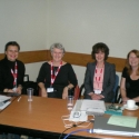 Left to right: Beril Yucel, Anne Burns, Briony Beaven and Jill Hadfield