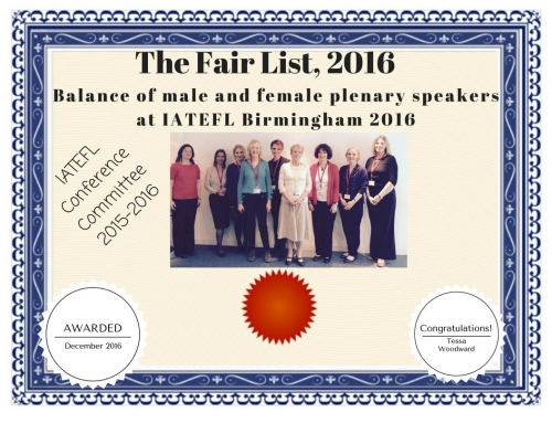The Fair List, UK certificate 2016